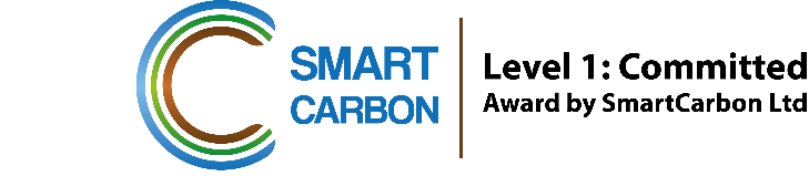 Smart Carbon Level 1: Committed Logo